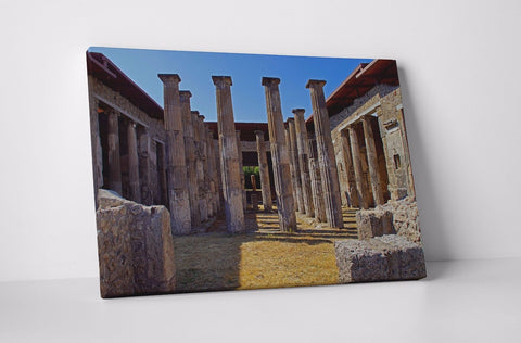POMPEII ITALY VILLA RUIN EUROPE CANVAS WALL ART IMAGE PICTURE WALL HANGING