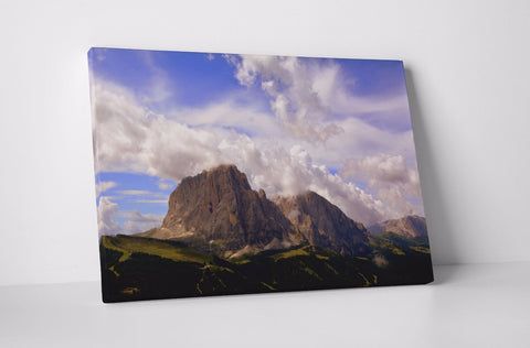 ITALY DOLOMITES MOUNTAINS EUROPE CANVAS WALL ART IMAGE PICTURE WALL HANGING