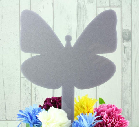 Acrylic Butterfly Memorial Stake Grave Memorial Long Lasting