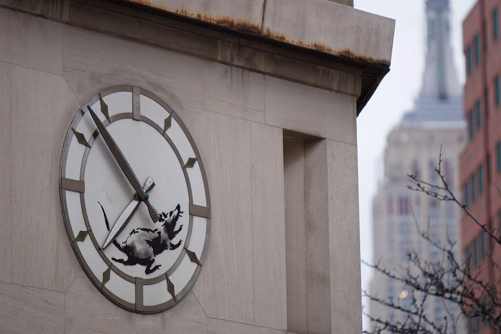 Banksy Returns to New York City With New Rat Piece
