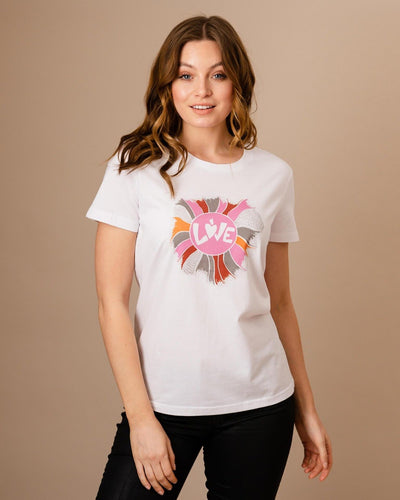 LOVE T-Shirt In White