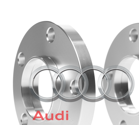 Hub Centric Spacers | 2 Piece Kits with Bolts | Audi 5x112 | 66.56