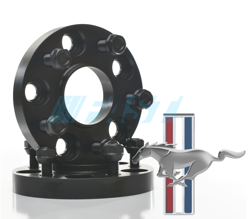 Hub Centric Spacers | 2 Piece Kit | 20mm Thick | Mustang (2015-Current) 5x114.3 | 70.5
