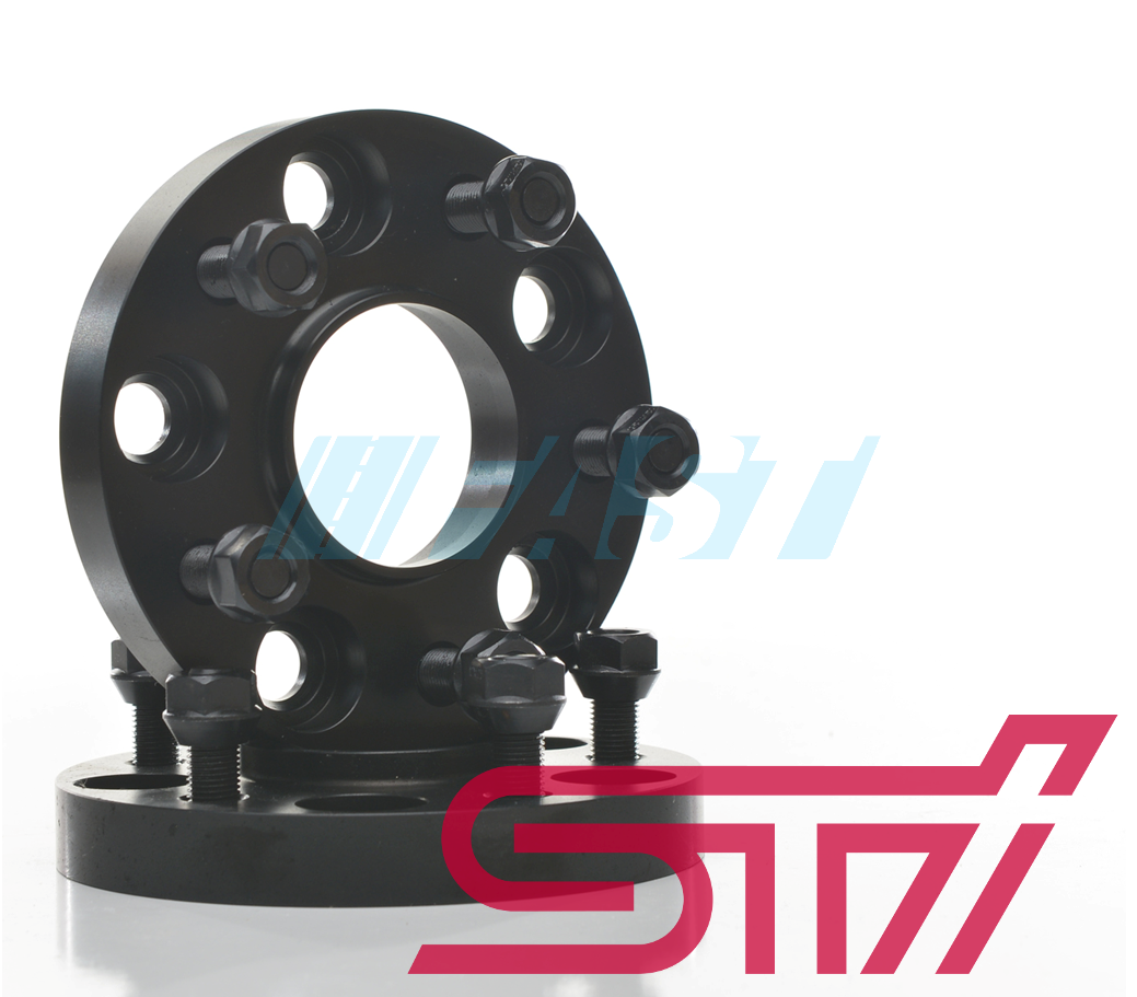 Hub Centric Spacers | 2 Piece Kit | 20mm Thick | Subaru STI (2005-Current) 5x114.3 | 56.1