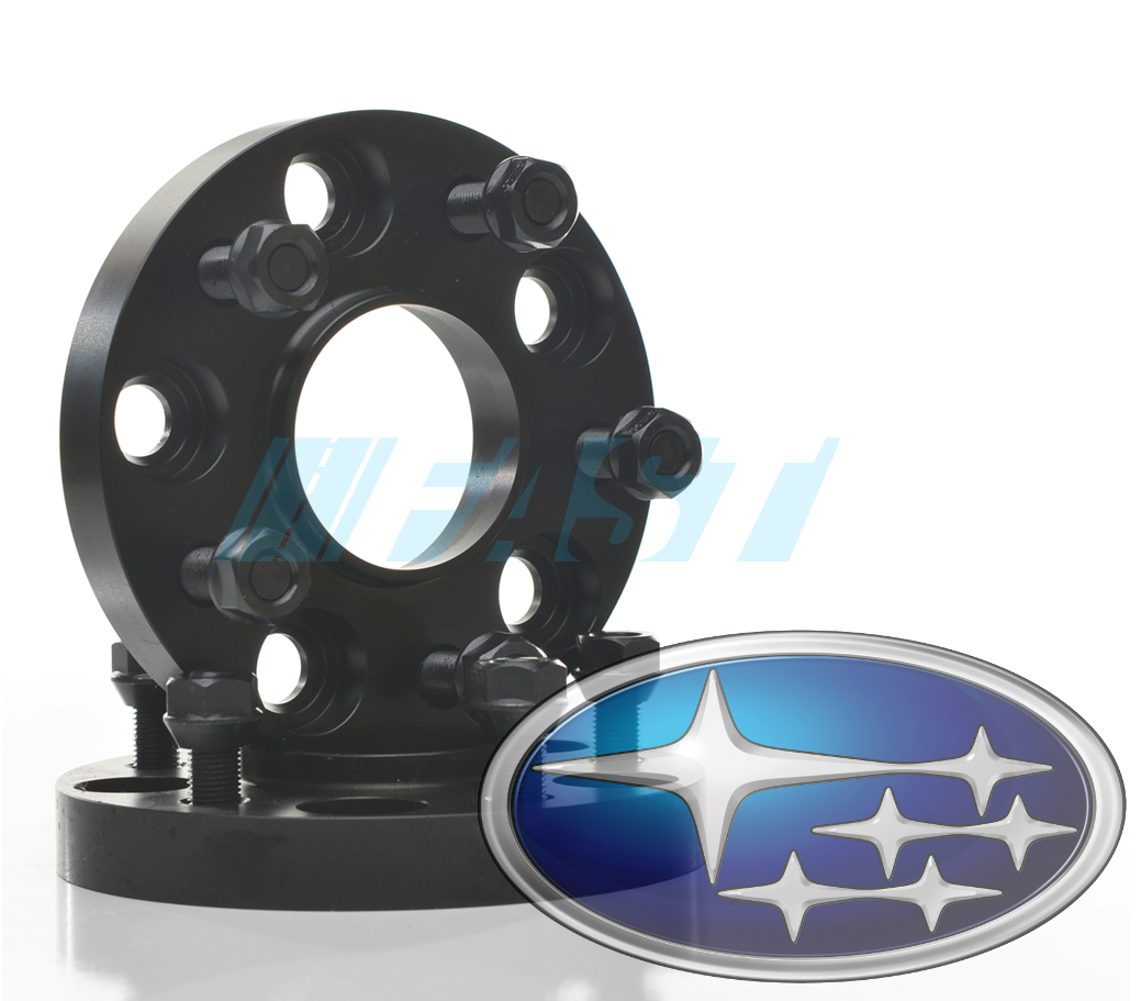 Hub Centric Spacers | 2 Piece Kit | 20mm Thick | Subaru 5x100 | 56.1