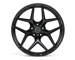 Brixton RF7 Radial Forged 1 Piece Wheel - Satin Black - Rotiform Wheels