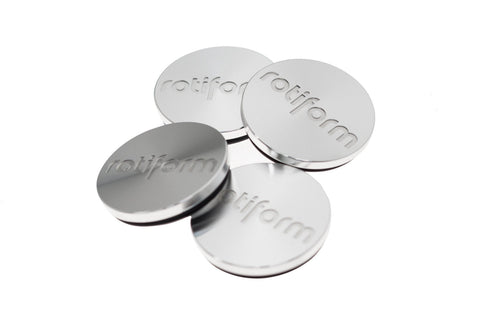 Rotiform Forged Center Cap - Silver - Rotiform