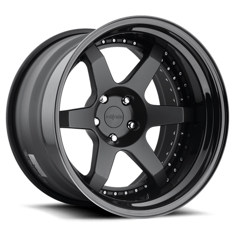 Rotiform SIX 3-Piece Forged Wheel - Rotiform Wheels