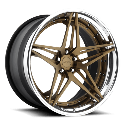 Rotiform VDA 3-Piece Forged Wheel - Rotiform Wheels