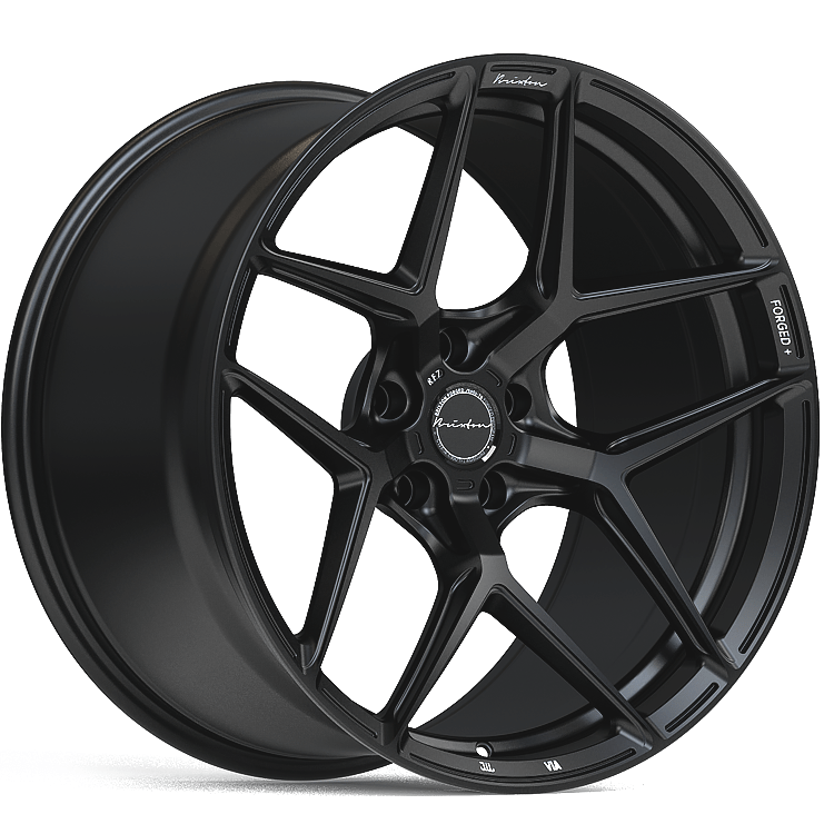 Brixton RF7 Radial Forged 1-Piece Wheel - Satin Black - Rotiform Wheels