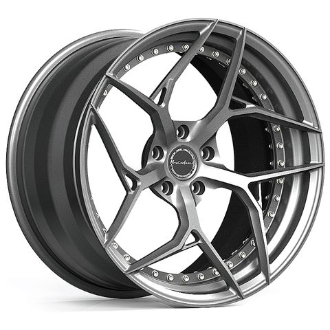 Brixton PF5 Duo Series 2-Piece Forged Wheel - Rotiform Wheels
