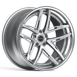 Brixton BB01 Targa Series 3-Piece Forged Wheel - Rotiform Wheels