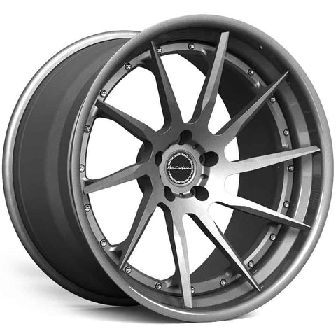 Brixton R10D Targa Series 3-Piece Forged Wheel - Rotiform Wheels