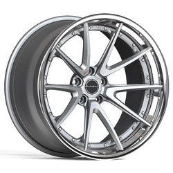 Brixton WR3 Targa Series 3-Piece Forged Wheel - Rotiform Wheels