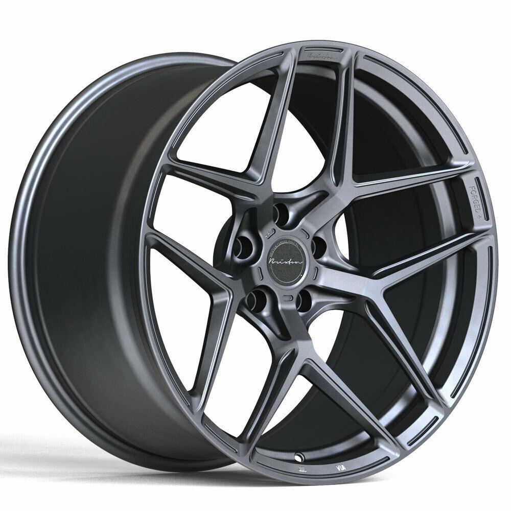 Brixton RF7 Radial Forged 1-Piece Wheel - Satin Anthracite - Rotiform Wheels