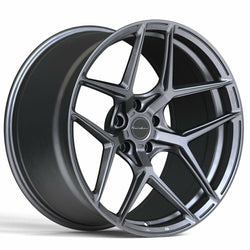 Brixton RF7 Radial Forged 1 Piece Wheel - Satin Anthracite - Rotiform Wheels