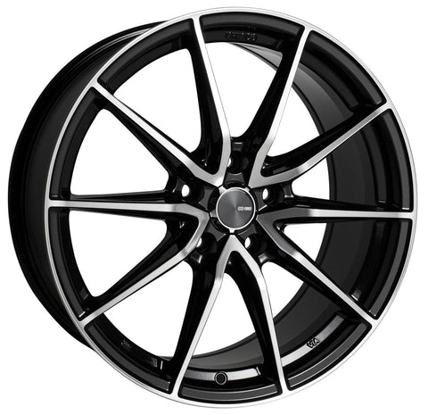 Enkei DRACO Cast Wheel - Black Machined - Rotiform Wheels