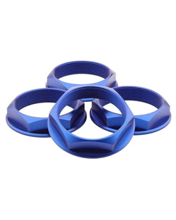 fifteen52 Super Touring Hex Nut - Anodized Blue - Rotiform Wheels