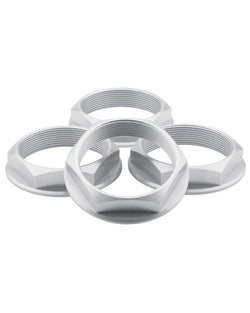 fifteen52 Super Touring Hex Nut - Anodized Silver - Rotiform Wheels