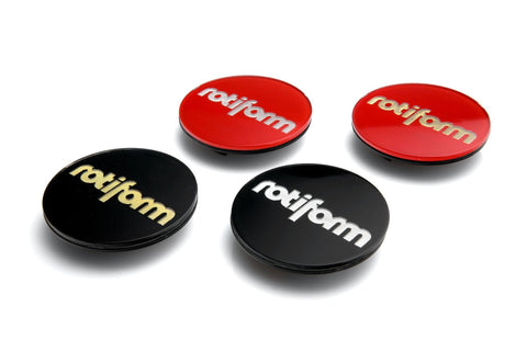 Rotiform Hex Center Cap Insert - Rotiform Logo - Rotiform