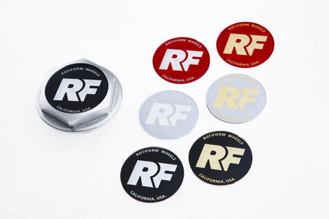 Rotiform Hex Center Cap Insert - RF Logo - Rotiform