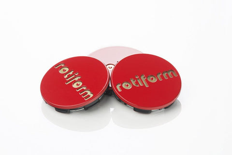 Rotiform Center Cap - Red & Gold - Rotiform