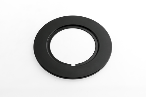 Rotiform LAS-R Lug Cover Plate - Matte Black - Rotiform Wheels