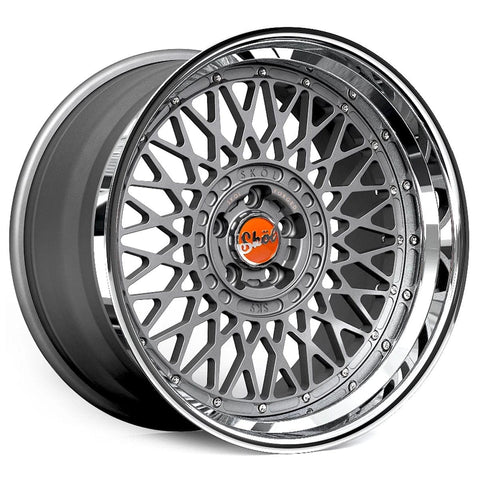 Skol SK9 3-Piece Forged Wheel - Rotiform Wheels