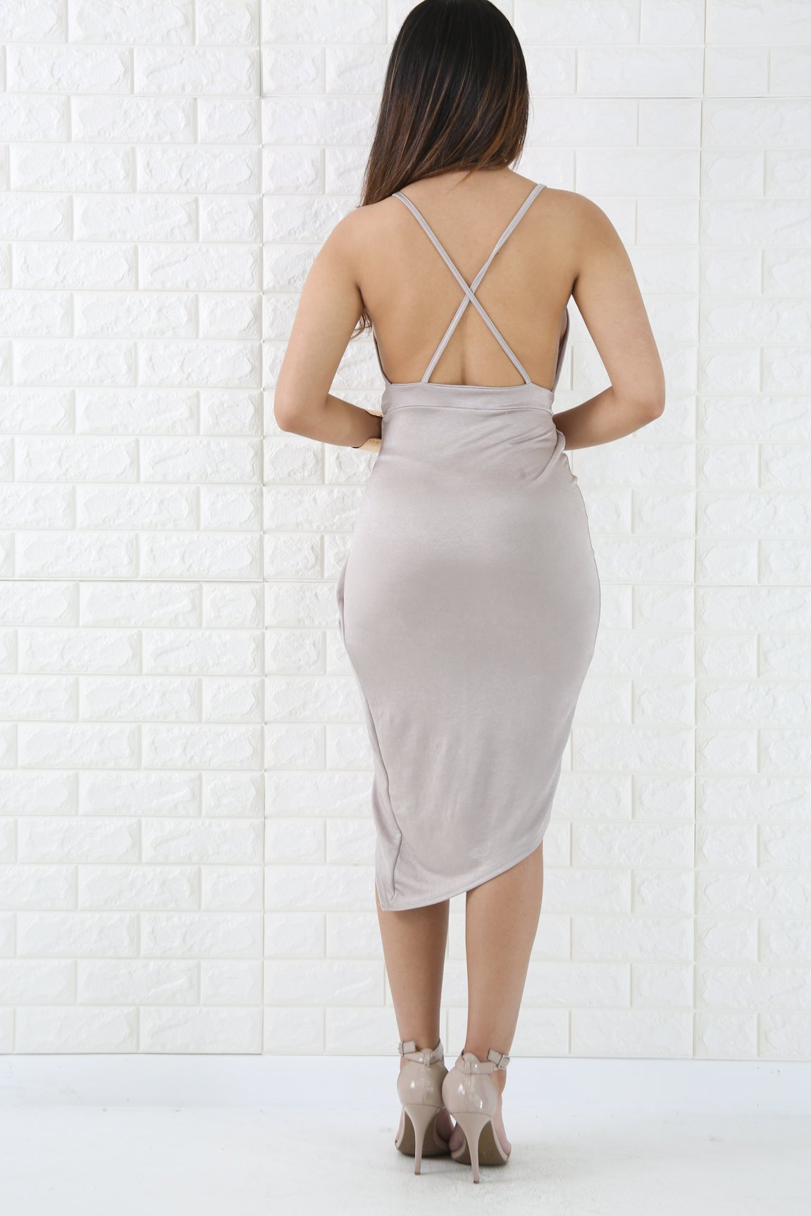 Silk Drape Dress