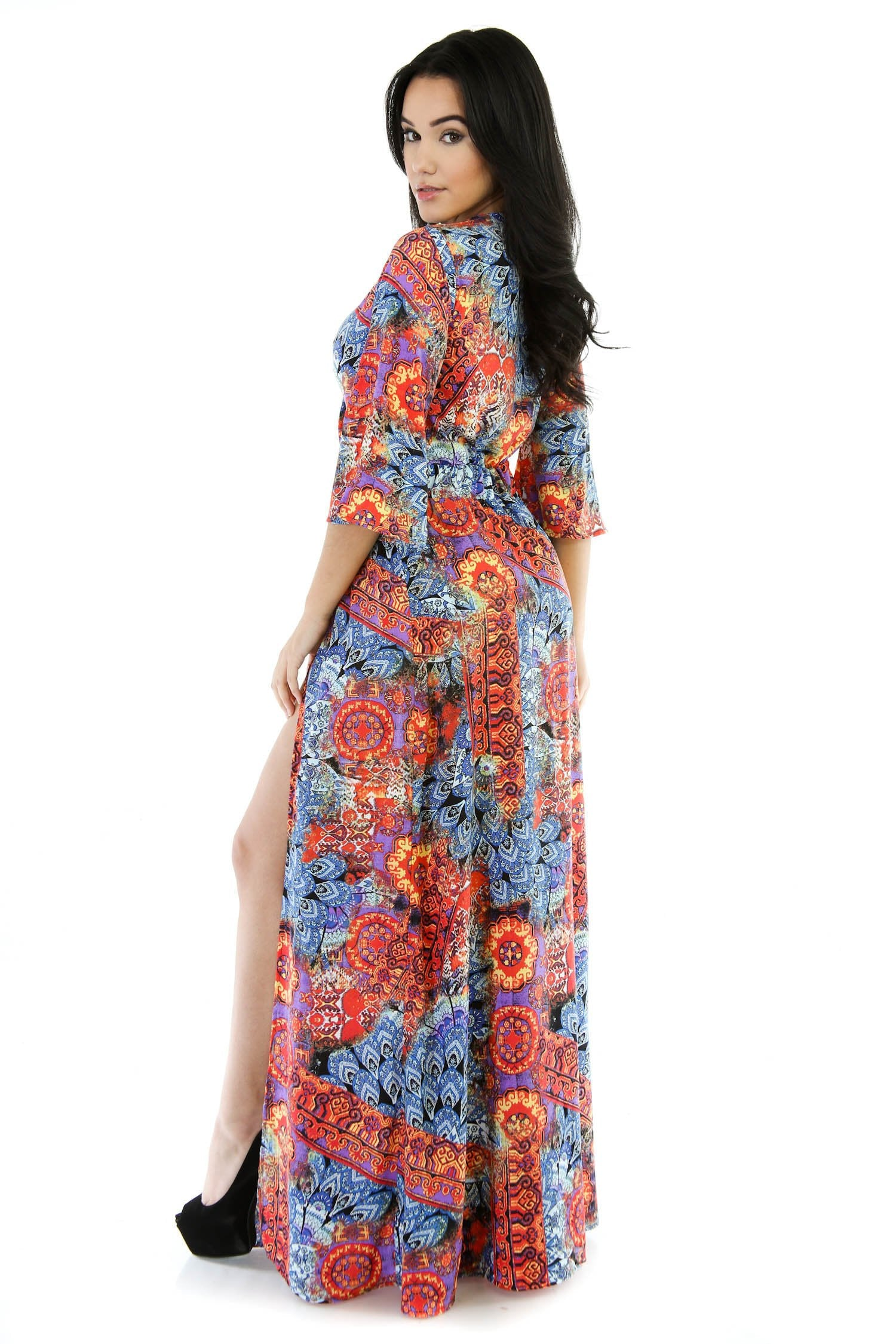 Shorty Loose Maxi Dress