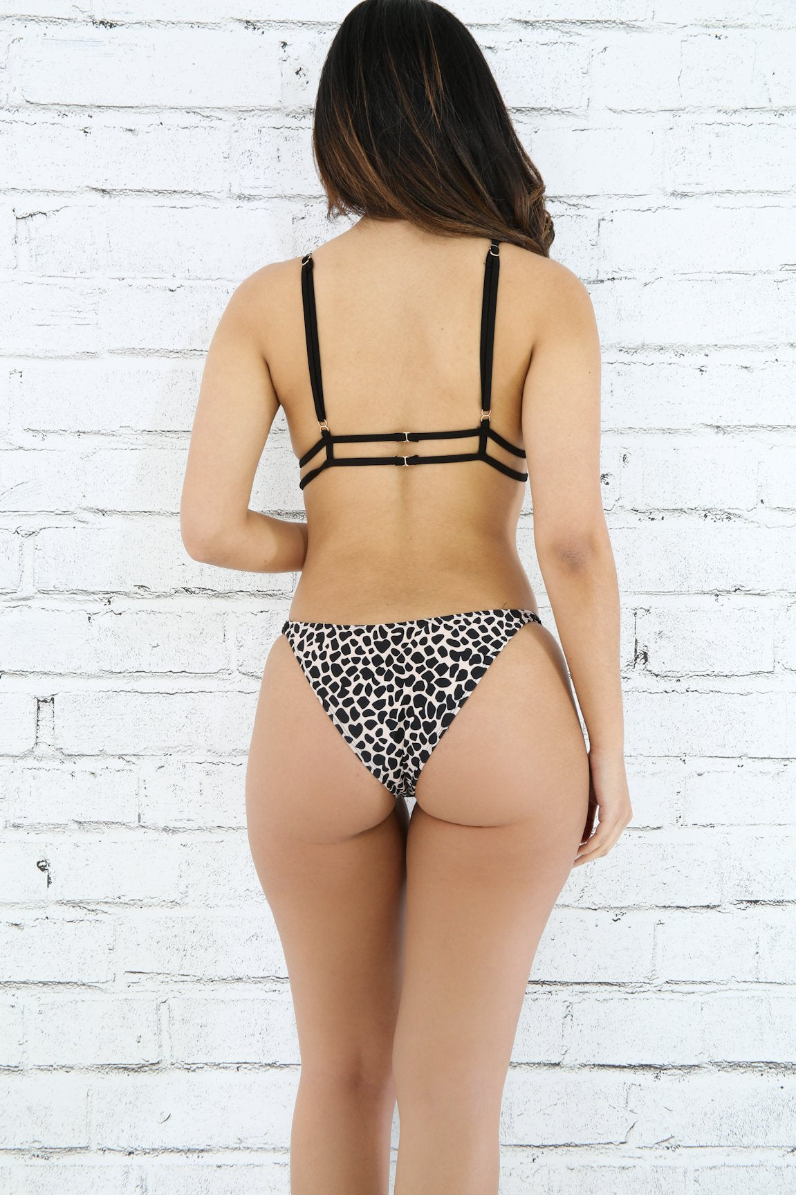 Exotic Jaguar Print Bathing Suit