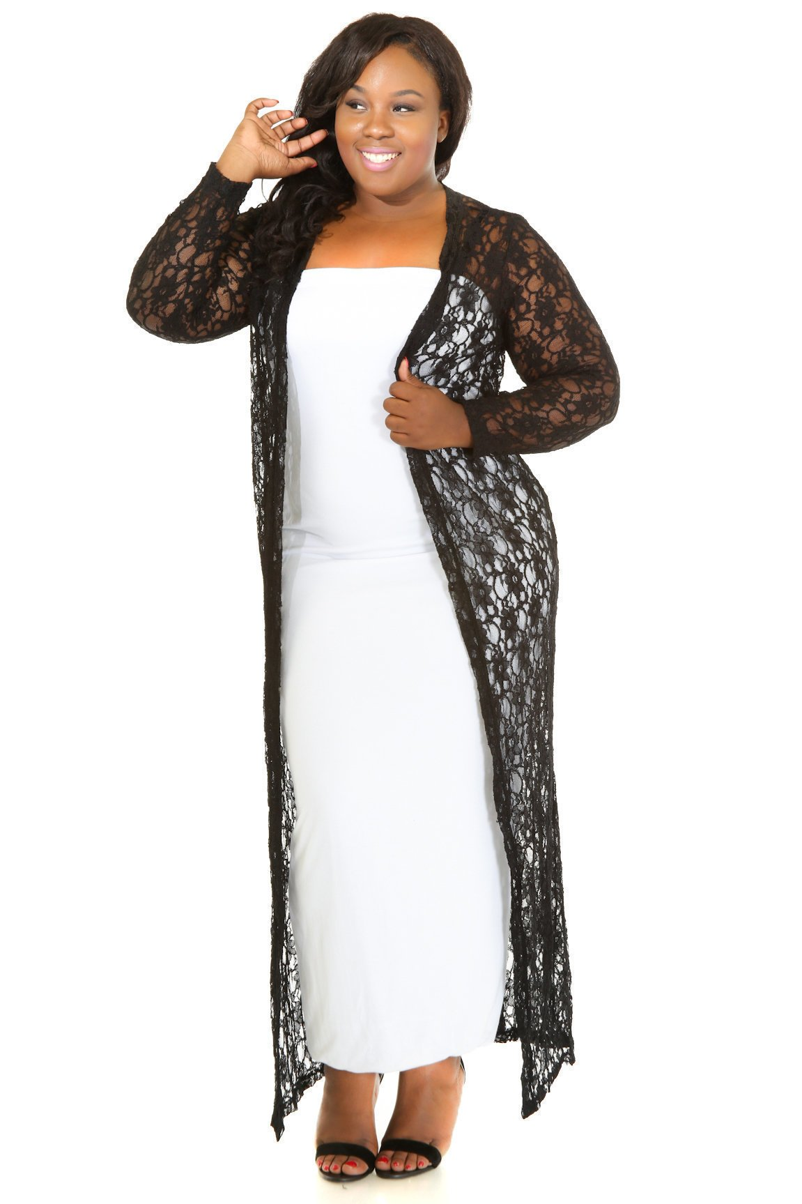 Garden Lace Coverup
