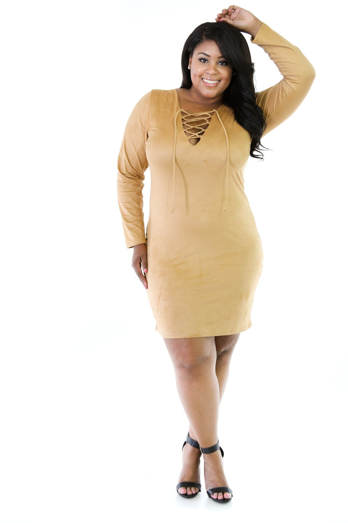 Suede It Good Dress
