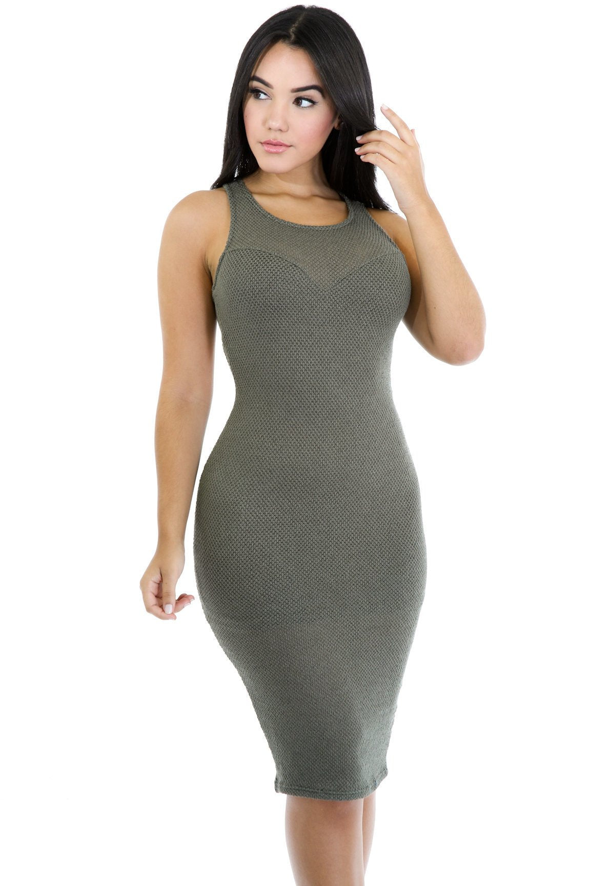 Knitted Cutout Dress
