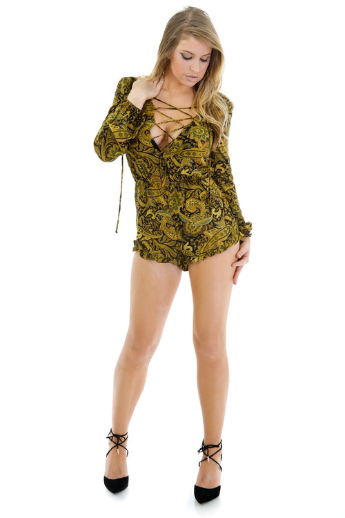Cooling Out Romper