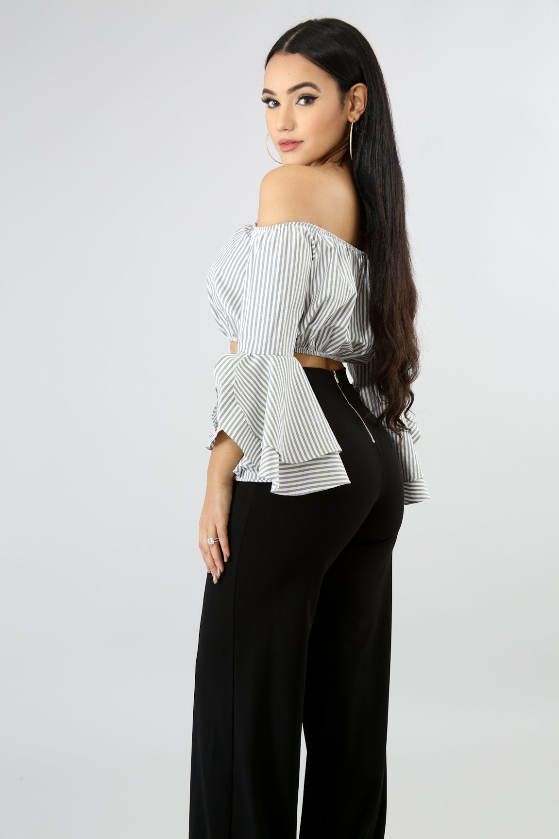 Trumpets Sleeve Top
