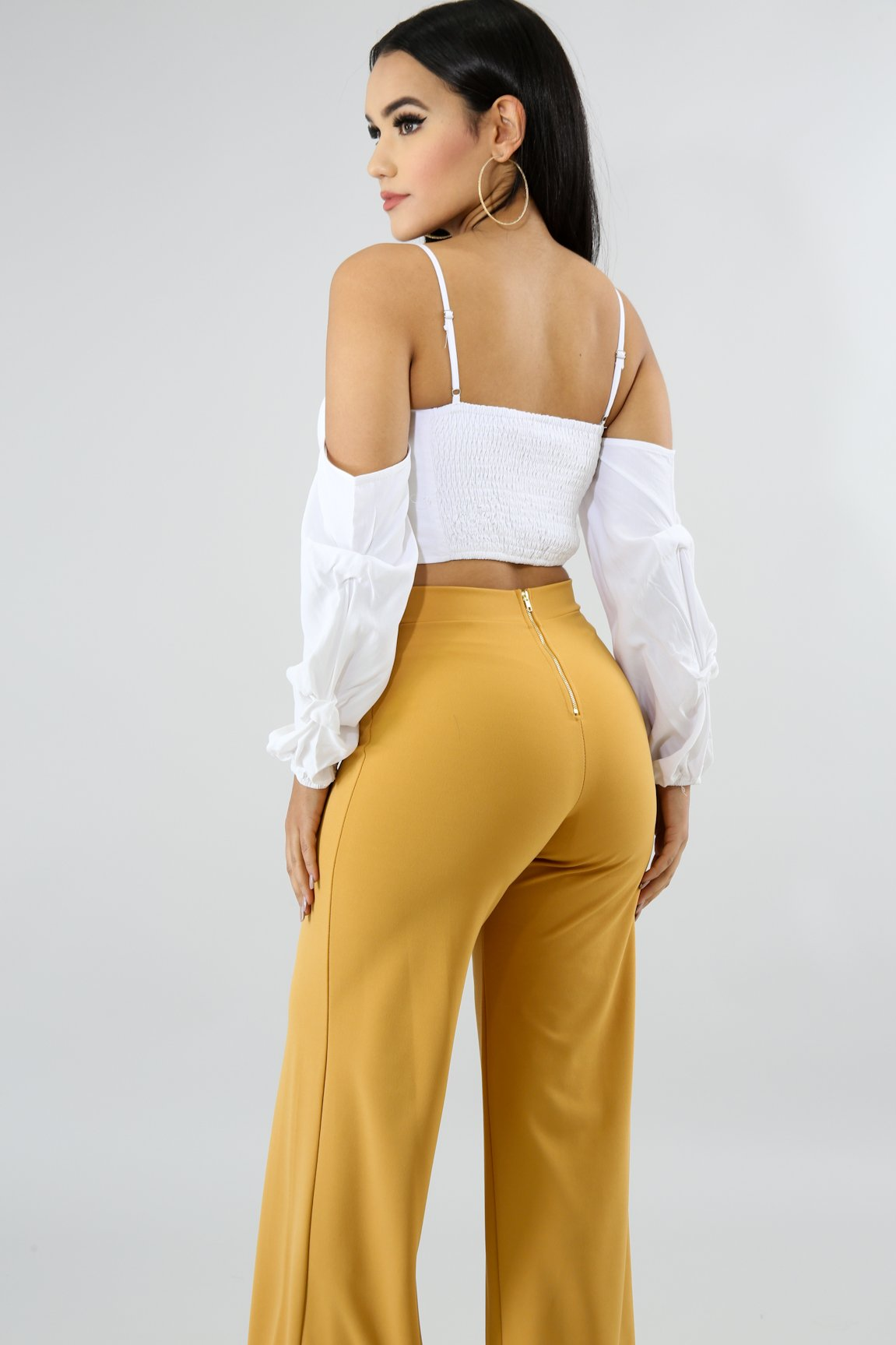 Twist Bow Crop Top | GitiOnline