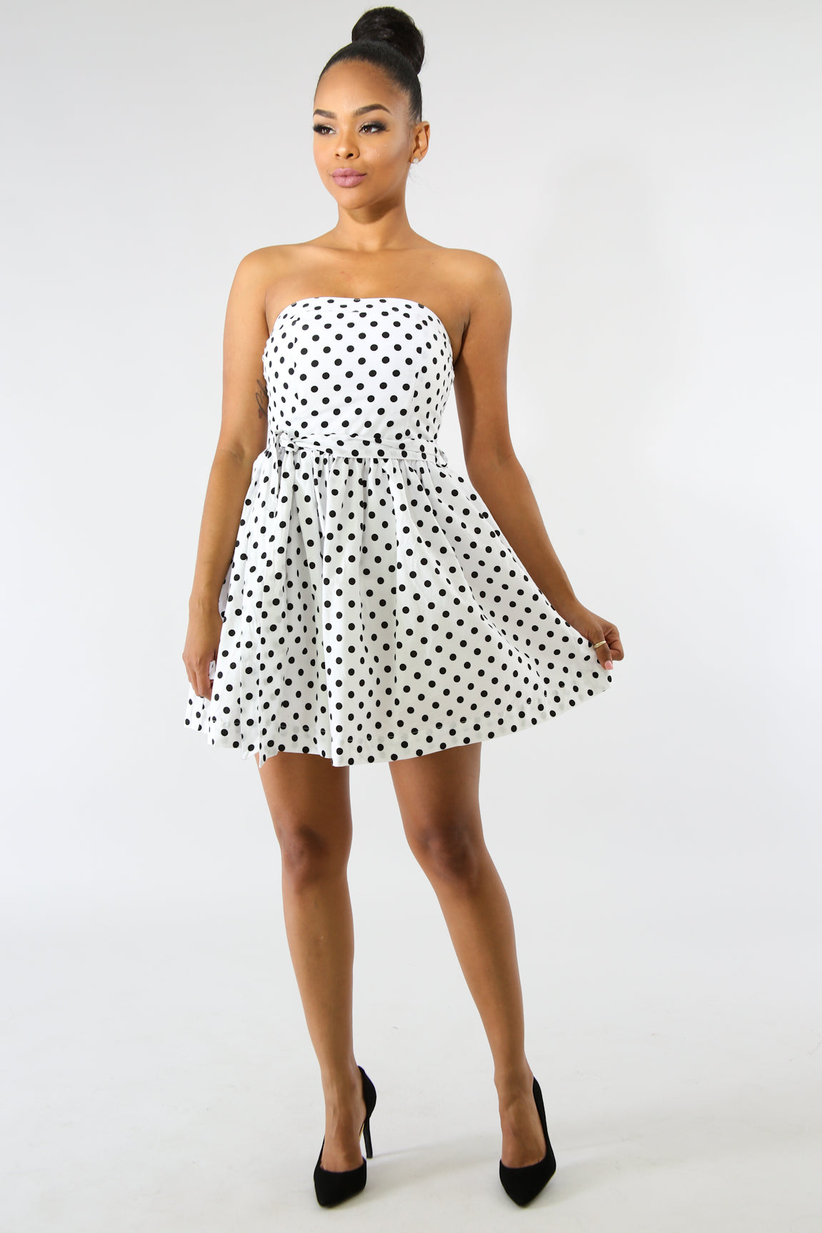 Polka Dot Dolly Dress