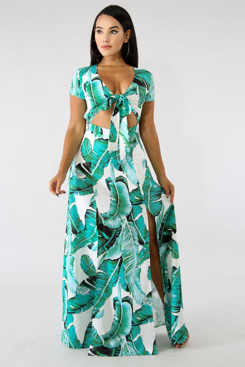 Havana Maxi Dress | GitiOnline