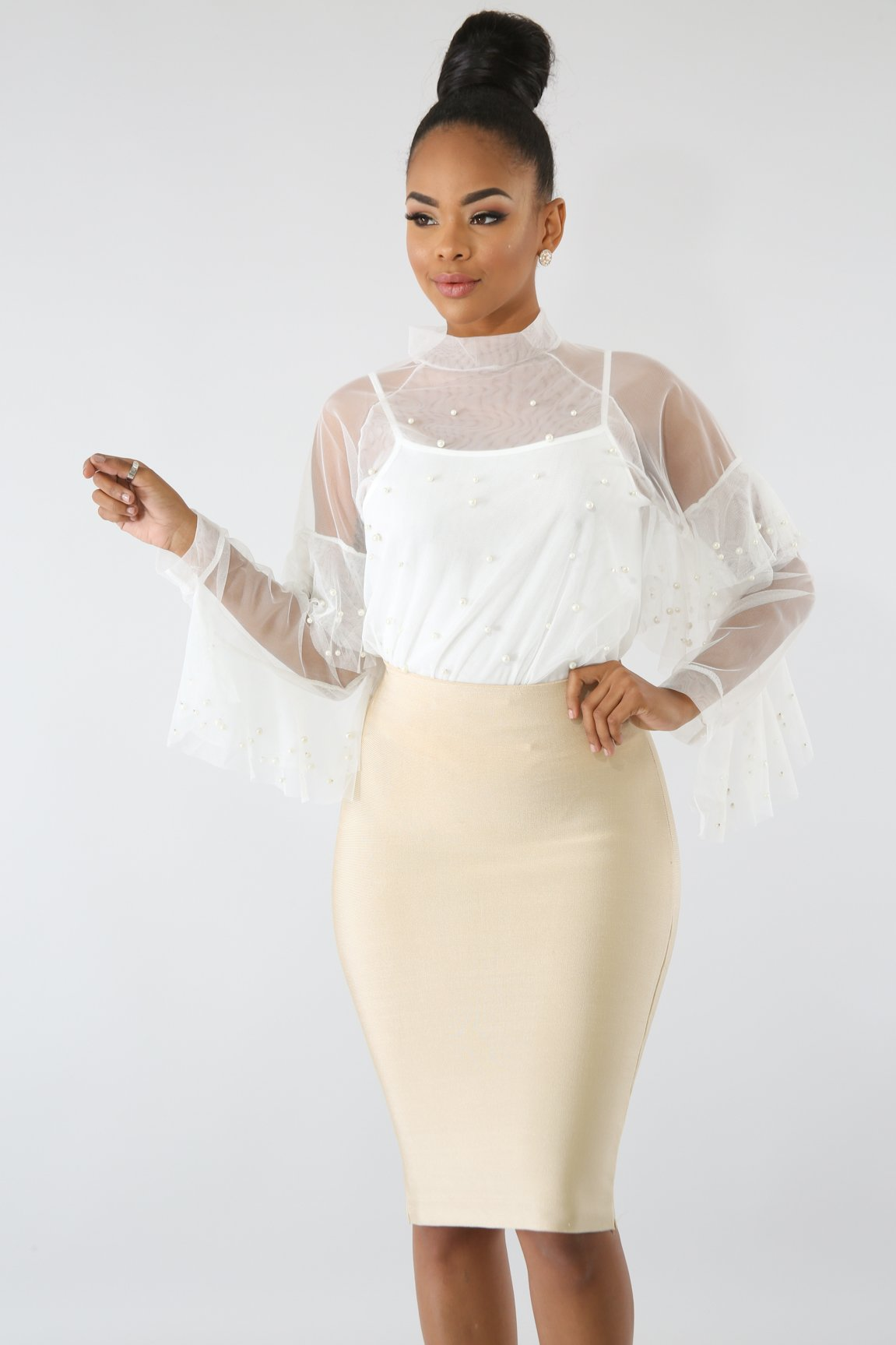 Pearl Bell Top | GitiOnline
