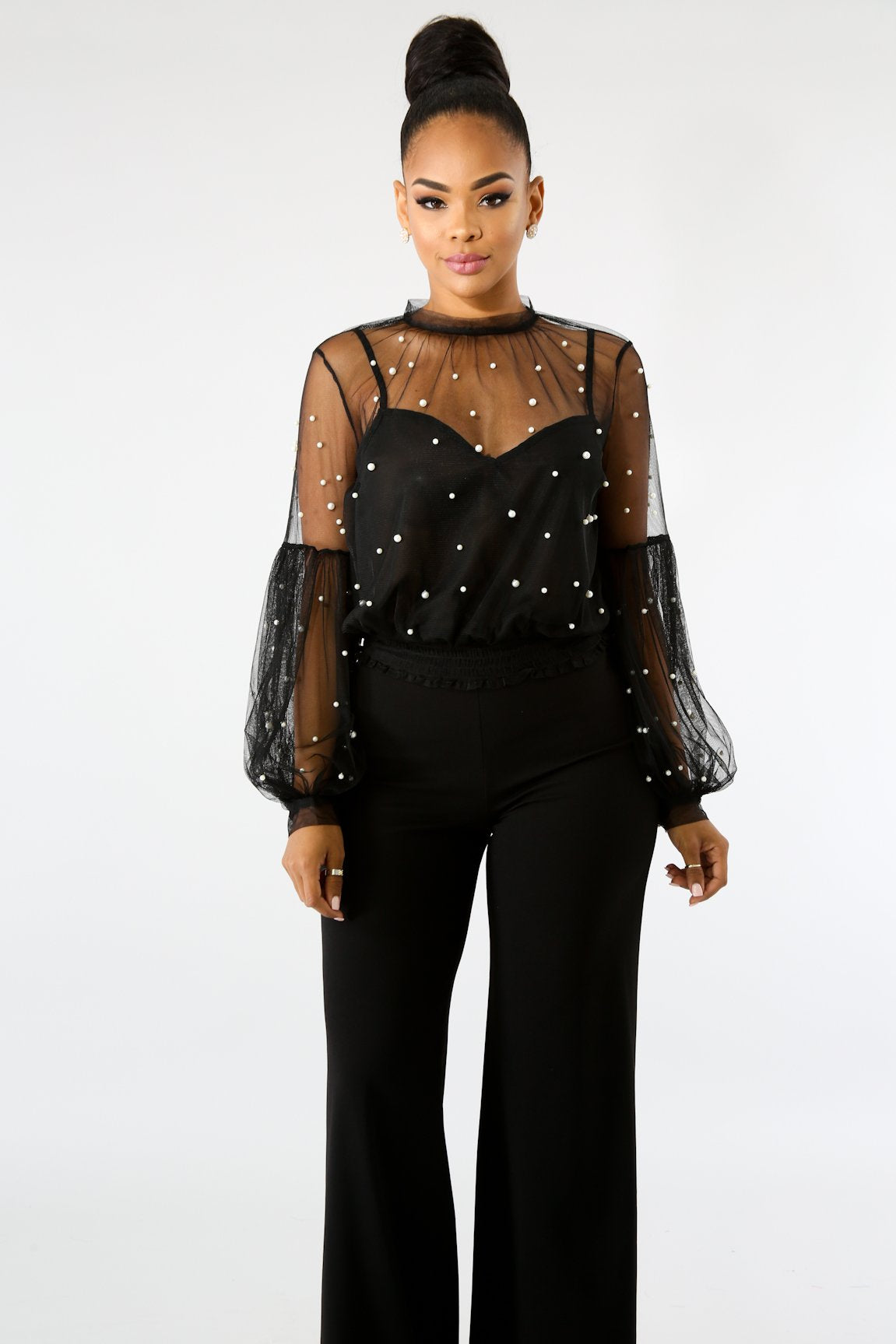 Pearl Puff Top | GitiOnline