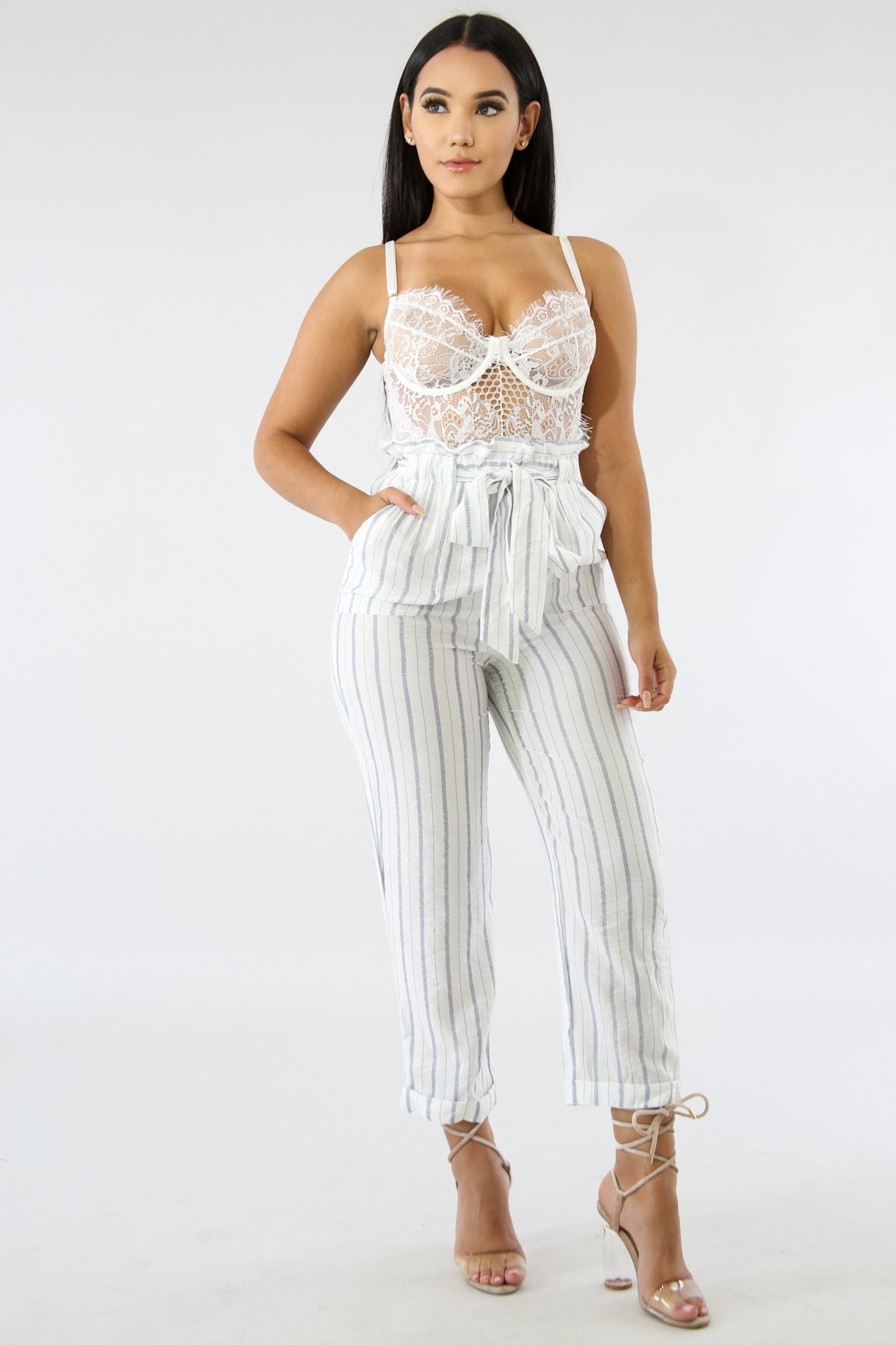 Simplicity Stripe Pants | GitiOnline