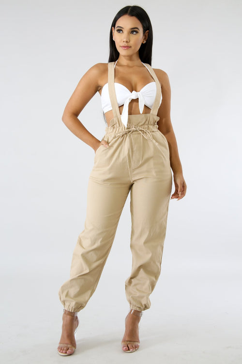 Overall Boxy Pants | GitiOnline