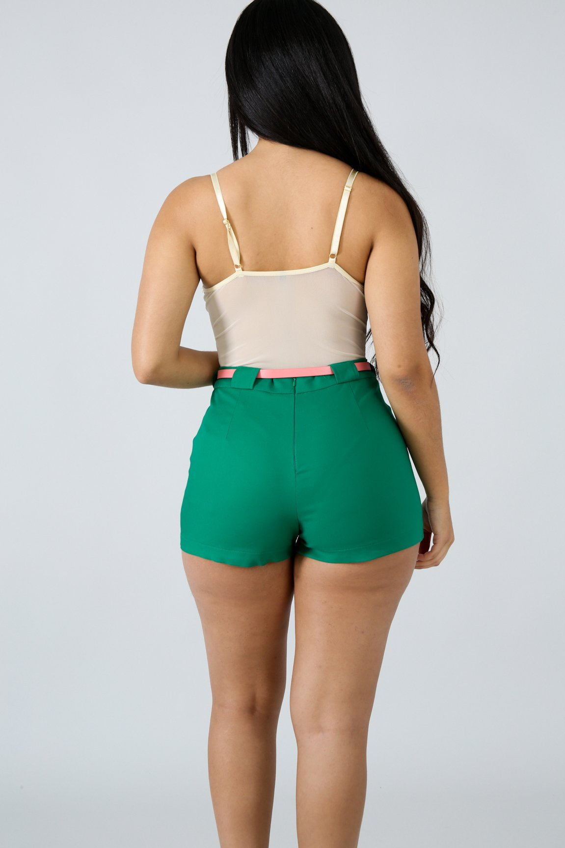 Esmeralda High Waist Shorts | GitiOnline