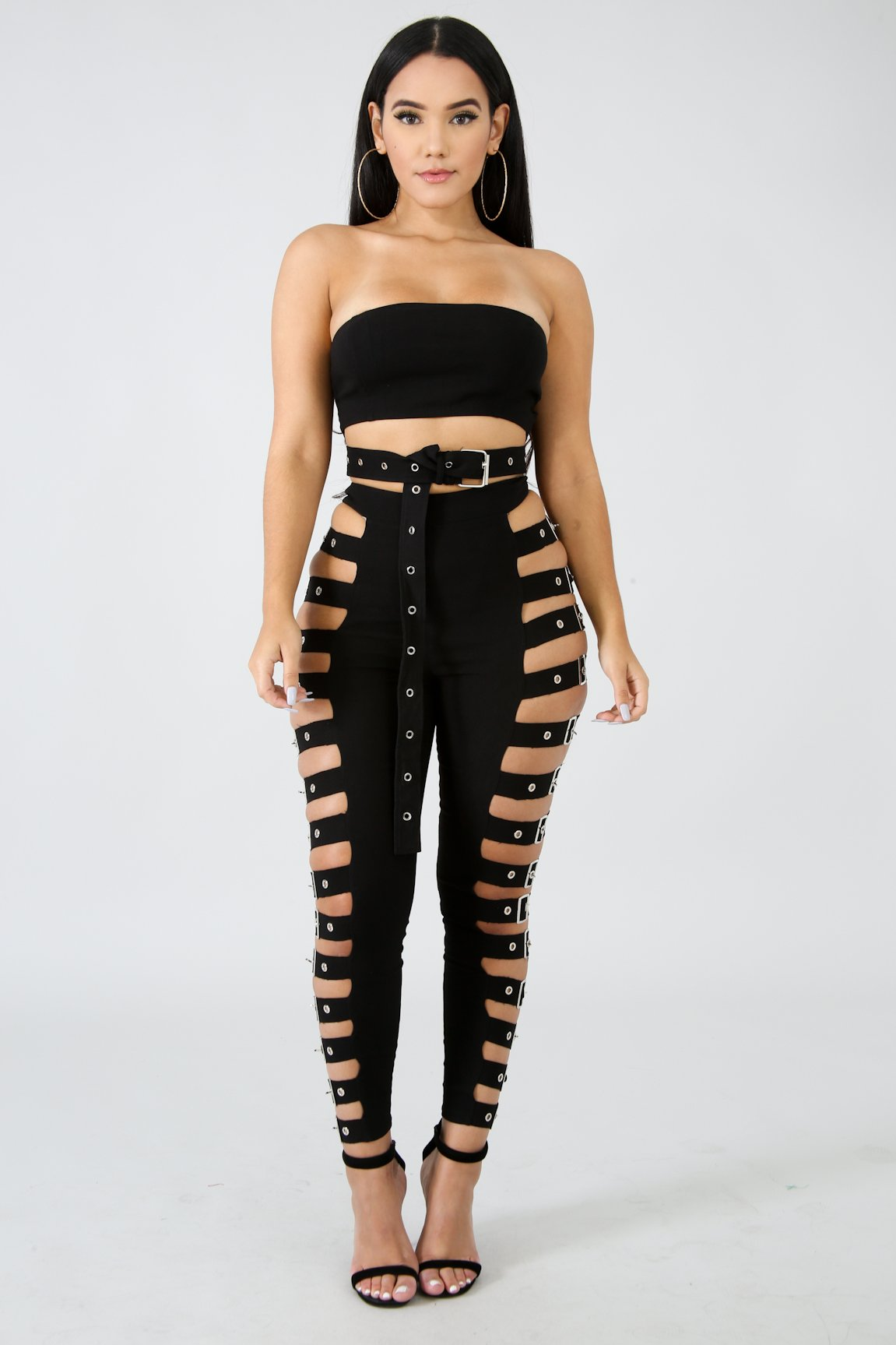 Belt Strap Pants | GitiOnline
