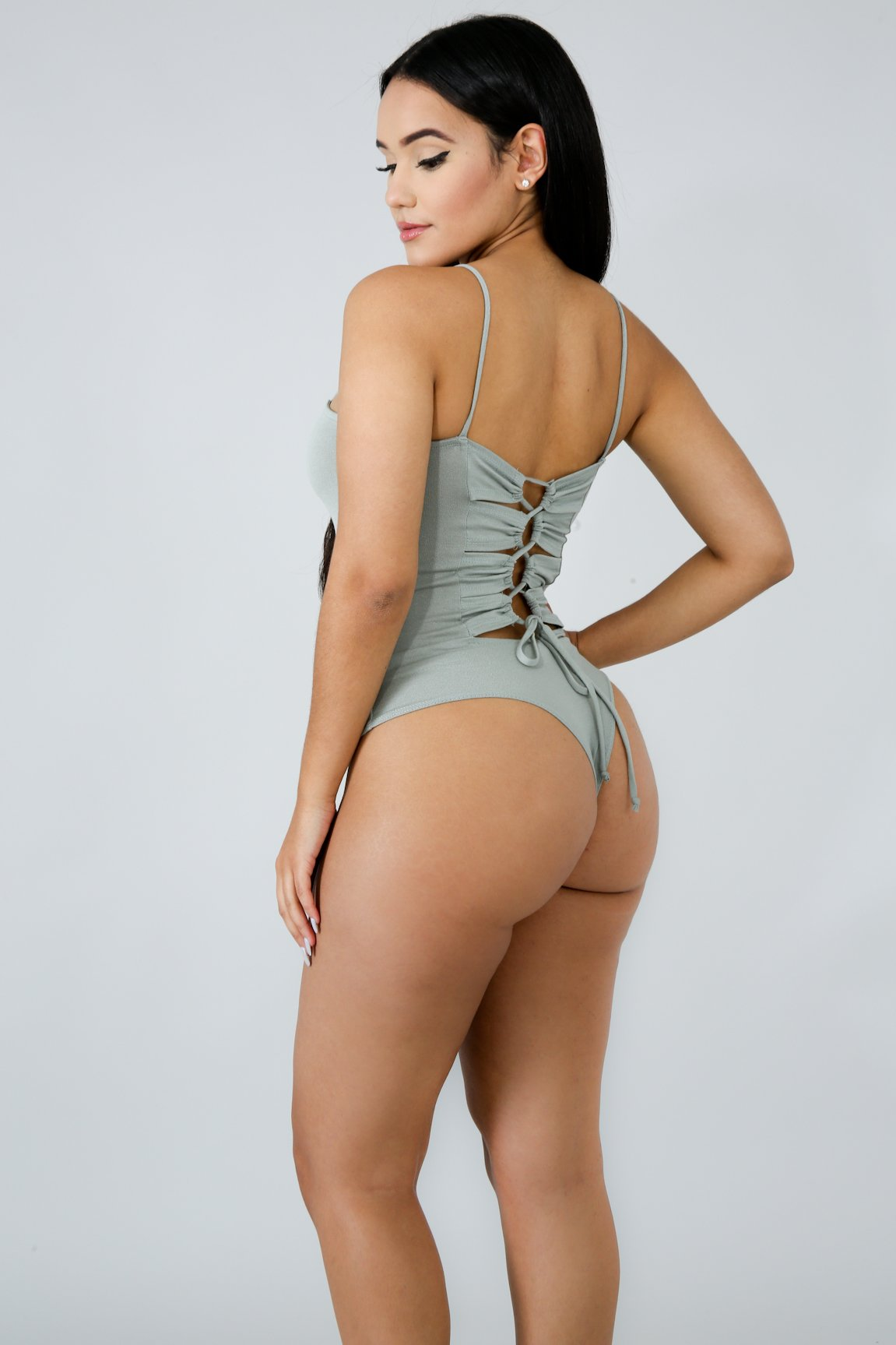 Back Twist Bodysuit | GitiOnline