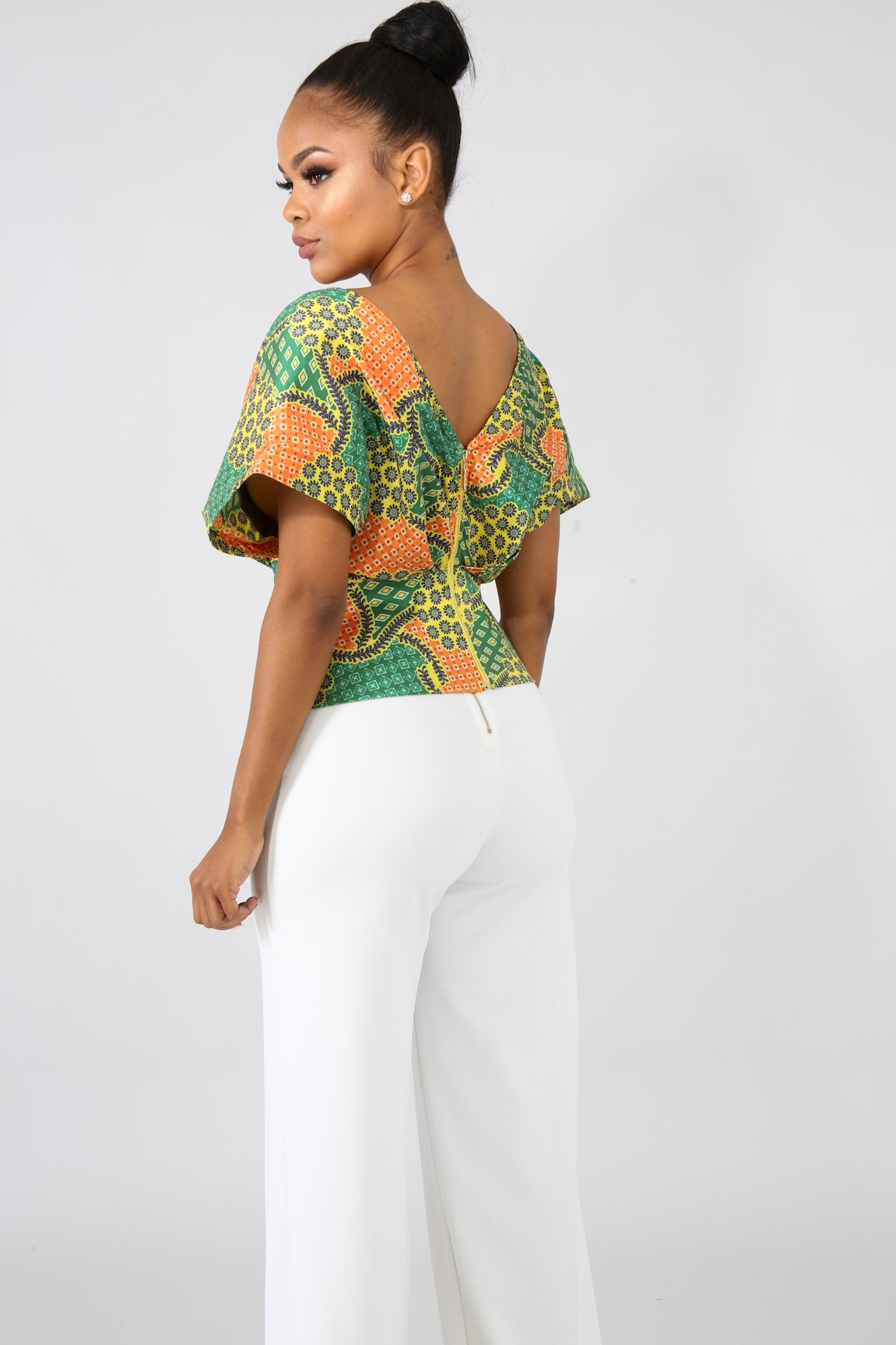 Elegance Paisley Top | GitiOnline