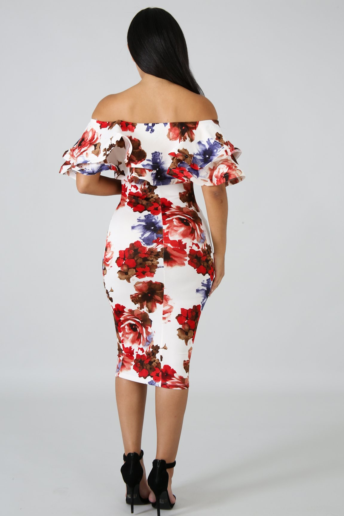 Gardenia Body-Con Dress | GitiOnline