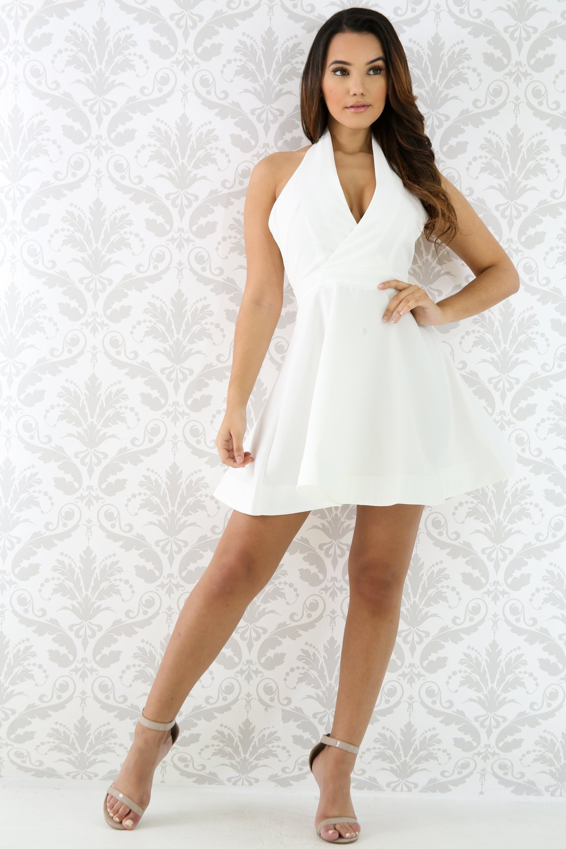 Swirl Mini Dress