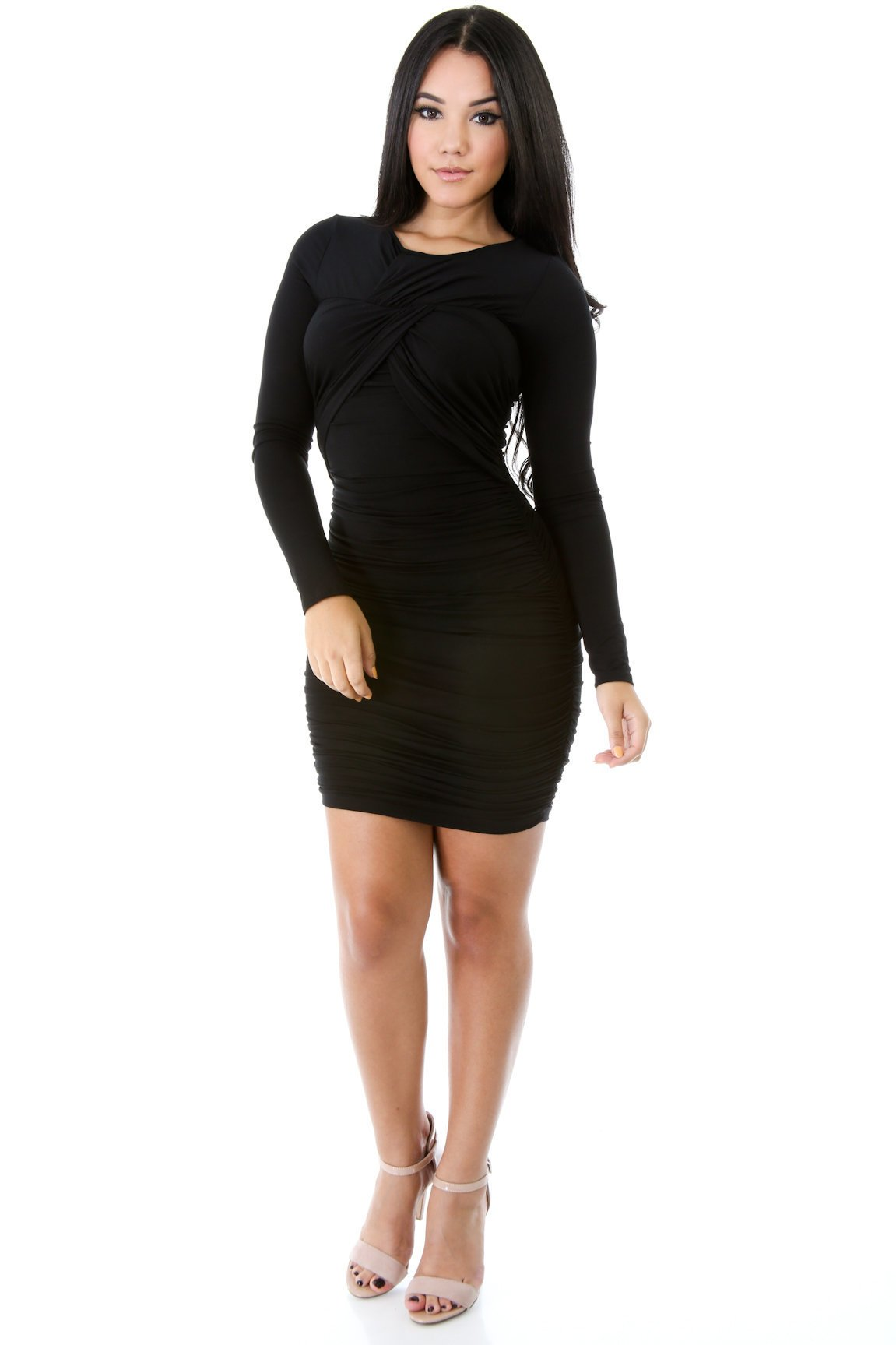 Diagonal Split Rage Dress